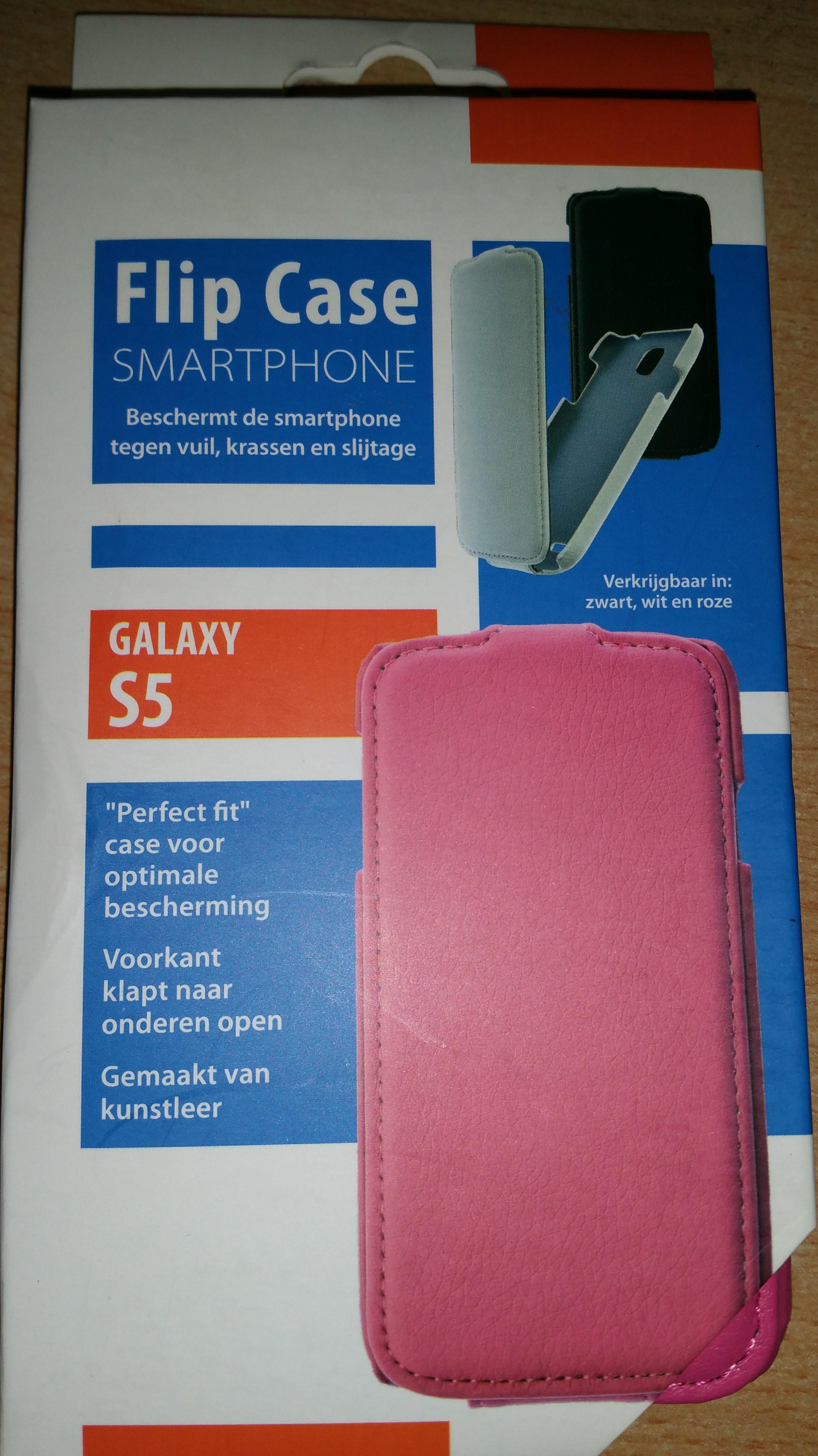 Telefoonhoes Galaxy S5 flip case